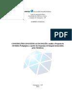 Linguistica Lingua Portuguesa 2018-09-14 Gabrieli Damada