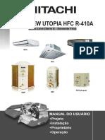 Ar Condicionado Split Teto Hitachi Utopia 36000 Btus Frio 220v Rpc36e3p