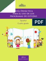 Guia Espanol 4o 2014 (1)