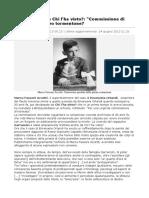 """BlizQuotidiano 2013_06_25 Commissione di inchiesta"""". Nuovo tormentone"""