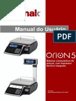 BALMAK Manual do Usuário ÓRION 5  (REV 1)