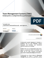 Prezentare EvenimetTeam Management System