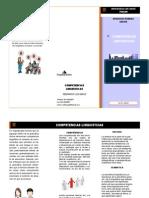 competencias lingusiticas folleto