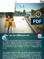 Presentación Altimetría