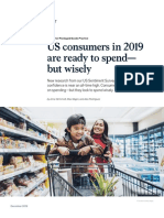 US Consumers in 2019 Are Ready to Spend but Wisely
