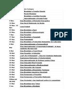 Calendarul Evenimentelor Ecologice