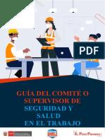 Guía del Comité o Supervisor de Seguridad y Salud en el Trabajo VF