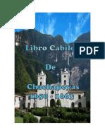 Libro Cabildo de Chachapoyas 1560 a 1633