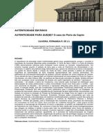 Artigo - Porto Do Capim (Rocha)