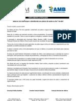 Carta à população