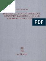 K. Janáček. Studien Zu Sextus Empiricus, Diogenes Laertius Und Zur Pyrrhonischen Skepsis, Berlin-New York 2008