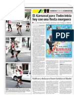 Arranca el Karnaval para Todos en la JPV