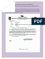 Categories, ang Types of Police Report Writing