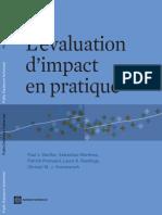 Evaluation d impact BM