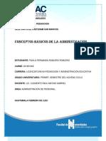 CONCEPTOS BÁSICOS DE LA ADMÓN. DE PERSONAL