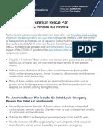 DPCC ARP Pensions Report