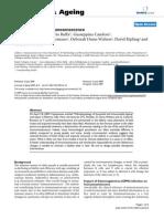 Mechanism of Immunosenescence