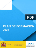Plan de Formación INAP 2021