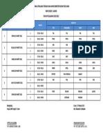 Jadwal Pas Genap 2020-2021 Khusus Kelas 12(2)