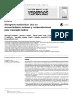FASEN Disruptores Endocrinos 2018