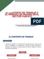 Contrato de Trabajo Regimenes Laborales y Disciplinarios
