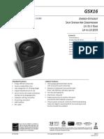 Spec Sheet GSX16