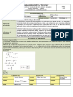 FICHA  1  matematicas segundo listo