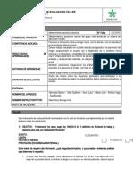 Instrumento de evaluacion No. 1