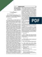 El Peruano - Modificación de Ley - Adultos Mayores Primera Fase