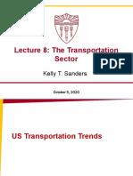 FA2020_ENE505_L8_The Transportation Sector