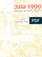 Siracusa 1999 Lo Scavo Archeologico Di P