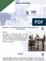 Webconferência 1 - Ambientes Simulados Thiago Nunes Soares