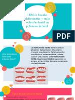 Tarea Nº5_Hábitos Deformantes y Mala Oclusión Dental