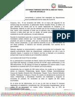 15-11-2020 LAS MEDIDAS QUE ESTAMOS TOMANDO SON POR EL BIEN DE TODOS- HÉCTOR ASTUDILLO