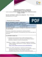 Guia de actividades y Rúbrica de evaluación - Unidad 3 - Fase 4 - Prácticas etnoeducativas en la región