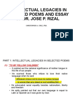 INTELLECTUAL LEGACIES IN SELECTED POEMS AND ESSAY.pptx