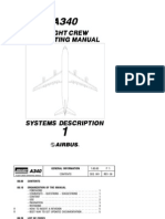Airbus A340 Flight Crew Operating Manual Volume1 - Systems Description