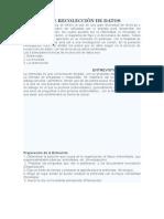 TÉCNICAS DE RECOLECCIÓN DE DATOS- Herminio Choc