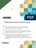 PLANIFICACION  AeC -ANUAL X CICLOS