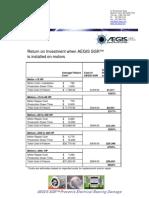 AEGIS SGR - ROI calculation
