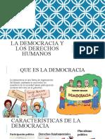 La democracia y derechos humanos