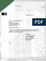 UPR-RP Carta del Comité de la Fac. de Derecho a la Rectora (Middle States)