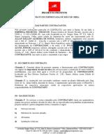 CONTRATO EXECUÇÃO - MÃO DE OBRA