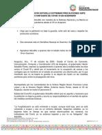11-10-2020 Llama Gobernador Astudillo Extremar Precauciones Ante Alza en Contagios de Covid-19 en Guerrero