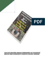 eBook Primera Venta en Instagram 2021 Masterenig