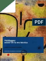 Jorge Acevedo, Heidegger, Existir en La Era Técnica (2014)