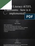 Critical literacy webinar ppt