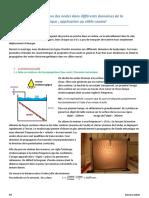 P6 - Experiences portant sur la propagation des ondes dans les differents domaines de la physique - application au cable coaxial