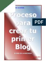 Zzz Proceso Para Crear Tu Primer Blog