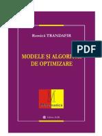 Modele si Algoritmi de Optimizare